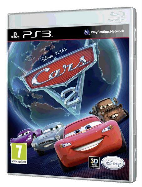 Cars 2, el videojuego: Rayo Macqueen, Mate y otros personajes de Cars 2 en este juego para PS3