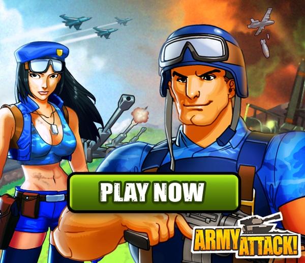 Army Attack, juega gratis en Facebook a este nuevo juego de estrategia