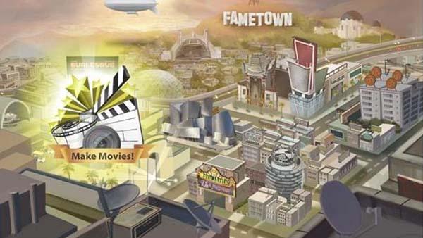 FameTown, el juego gratuito para Facebook que te convierte en una estrella