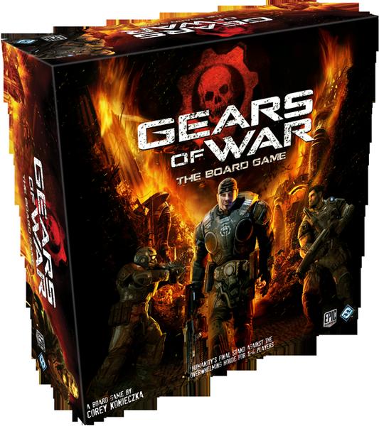Gears of War, crean un juego de mesa basado en el popular juego de disparos Gears of War