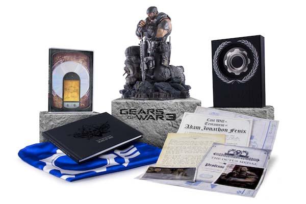 Gears of War 3, se desvelan las ediciones especiales que saldrán a la venta