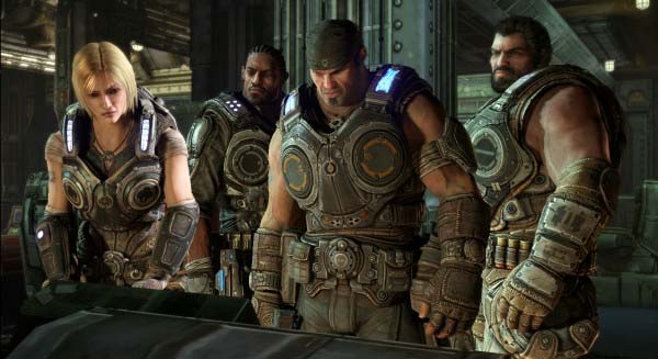 Gears of War 3, nuevo vídeo que se verá tras la final de Champions League
