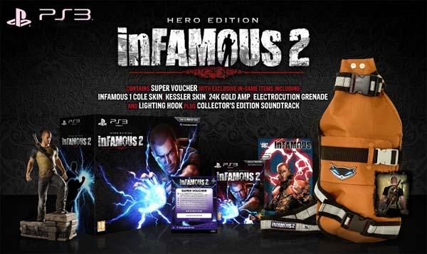 Infamous 2, anuncian cómo serán sus distintas ediciones especiales