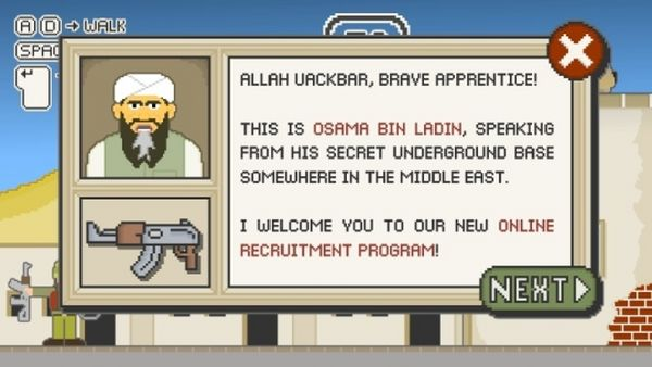 MUJAHEDIN (the game), nuevo juego en Flash con Bin Laden como protagonista