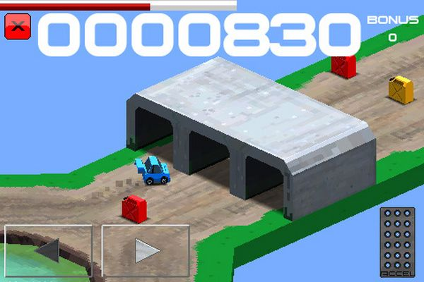 Cubed Rally Racer, descarga gratis juegos para iPhone, iPad y iPod Touch por tiempo limitado