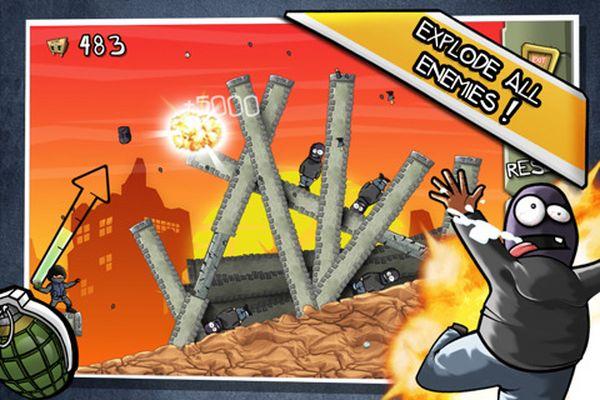 Fragger, descarga gratis juegos para iPhone, iPad y iPod Touch por tiempo limitado