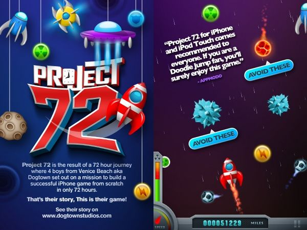 Project 72, descarga juegos gratis para iPhone, iPad y iPod Touch