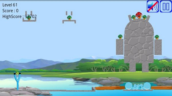 Angry Frogs, descarga gratis este juego para Android basado en el popular Angry Birds