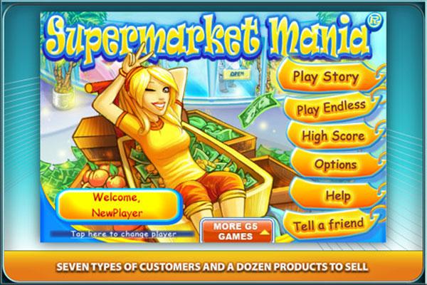 Supermarket Mania, descarga gratis este juego para iPhone, iPad y iPod por tiempo limitado