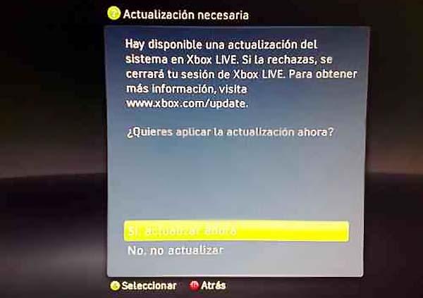 Xbox 360, su próxima actualización ocasionará varios problemas que Microsoft cubrirá