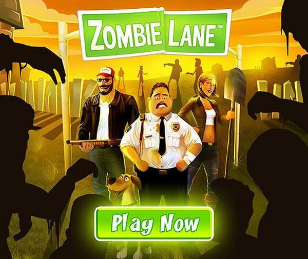 Zombie Lane,  juega gratis en Facebook machacando muertos vivientes con Zombie Lane