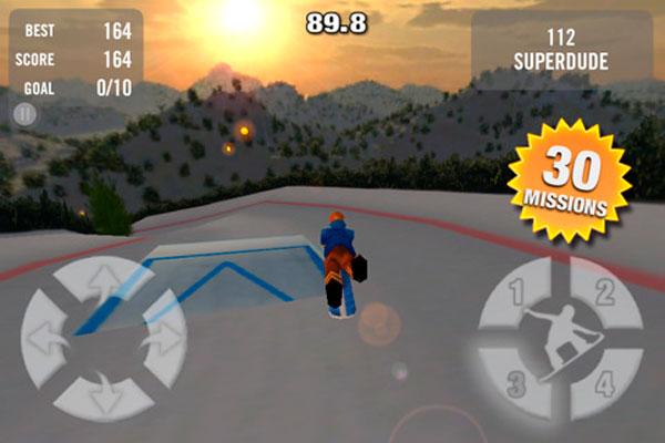 Crazy Snowboard, descarga gratis este juego para iPhone, iPad y iPod Touch por tiempo limitado
