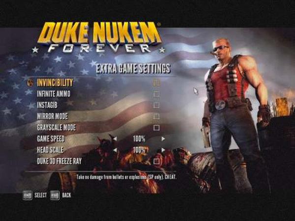 Duke Nukem, como conseguir invencibilidad y más trucos para este juego de disparos