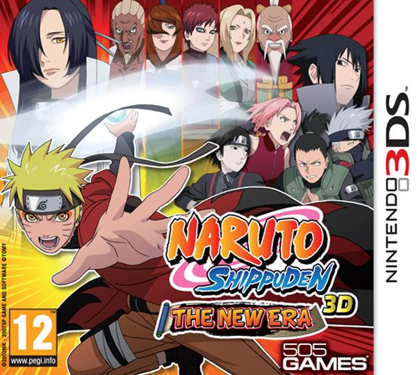 Naruto Shippuden: The New Era 3D, ya disponible para Nintendo 3DS