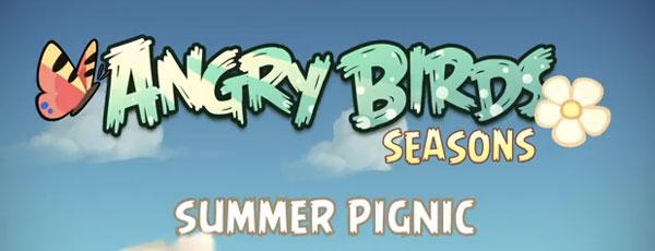 Angry Birds Summer Pignic, nueva y veraniega entrega de los pájaros favoritos de tu móvil
