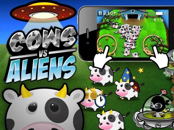 Cows vs Aliens, descarga gratis juegos para iPhone, iPad y iPod Touch por tiempo limitado