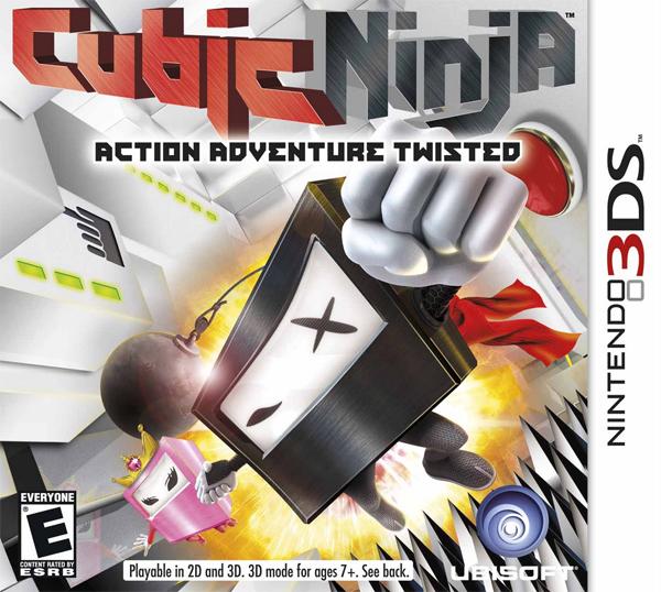 Cubic Ninja, conoce el nuevo juego de plataformas para Nintendo 3DS