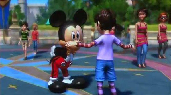 E3 2011, Microsoft presenta Disneyland Adventures para Kinect