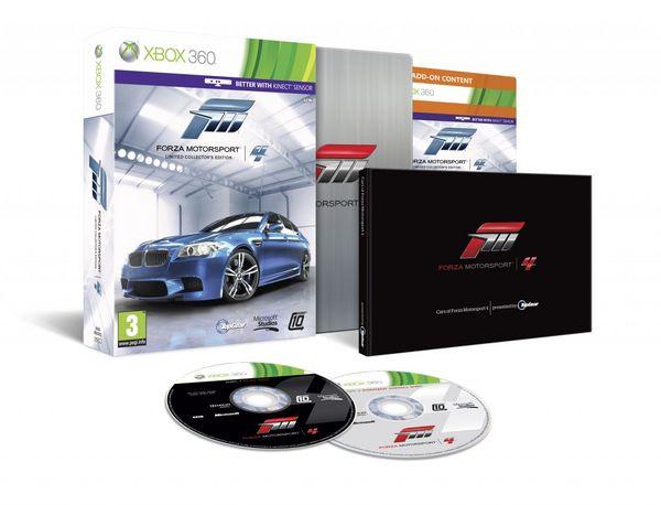 Forza Motorsport 4, detalle de la edición especial limitada de este juego de carreras de coches