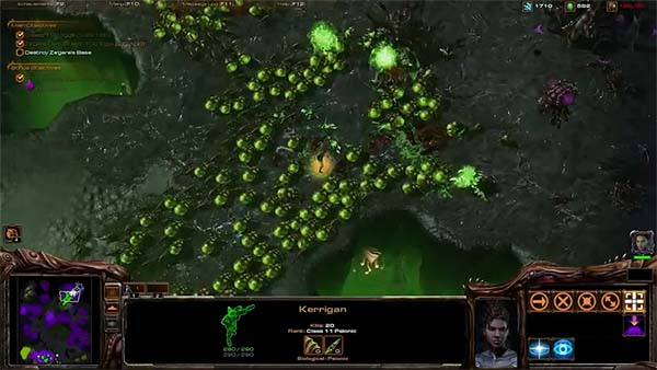 Starcraft II, primer ví­deo de Heart of the Swarm en acción