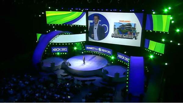 E3 2011, Minecraft tendrá una versión para Xbox 360 que se podrá jugar con Kinect
