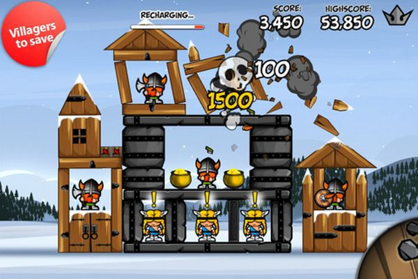 Siege Hero, interesante clon de Angry Birds para iPhone, iPad y iPod Touch