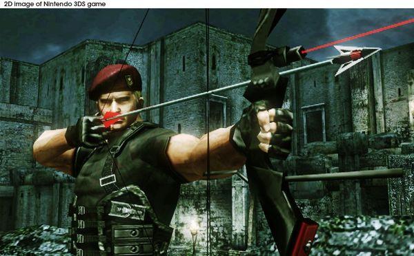 Resident Evil: The Mercenaries 3D, este juego de acción saldrá al mercado el 1 de julio