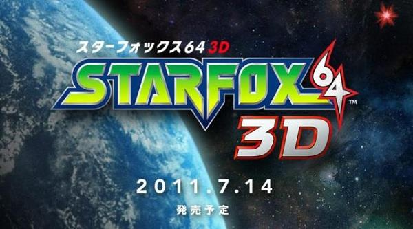 E3 2011, Nintendo ha mostrado más detalles de Star Fox 64 3D