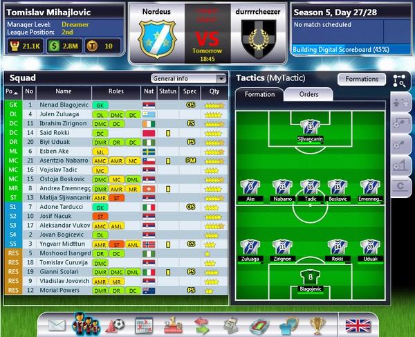 Top Eleven, este manager de gestión deportiva ya es más jugado en Facebook que FIFA SuperStars