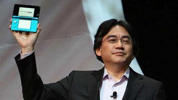 El Presidente de Nintendo Satouru Iwata se reduce el sueldo por las bajas ventas de la 3DS