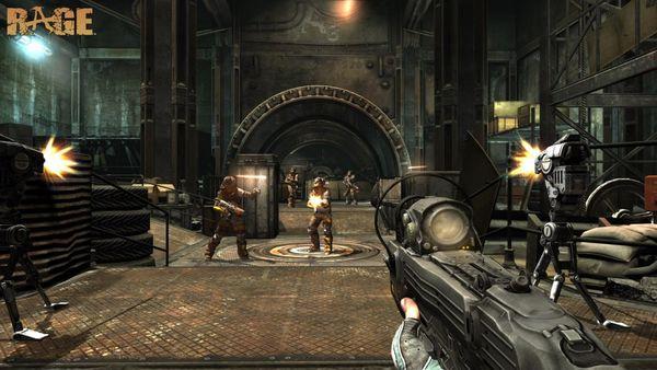 Rage, nuevo vídeo que muestra a los enemigos en el juego de disparos Rage