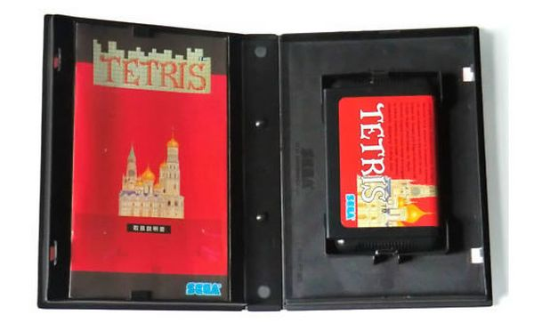 Tetris, un raro cartucho de Tetris para Megadrive a la venta por un millón de dólares