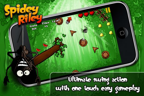 Spidey Riley, descarga gratis juegos para iPhone, iPad y iPod Touch por tiempo limitado