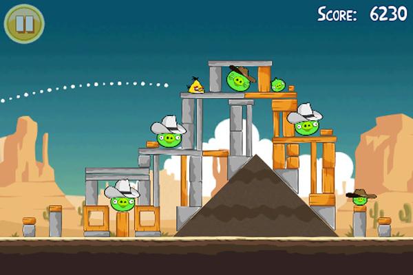 Angry Birds, nueva actualización gratuita del juego de Rovio para iPod, iPad y iPhone