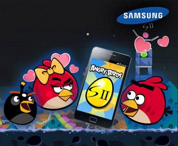 Angry Birds, desbloquea y juega gratis a un nuevo nivel exclusivo para el Samsung Galaxy S II