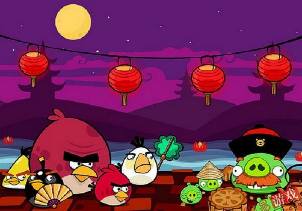 Angry Birds Seasons, anunciada la expansión del Festival de la Luna