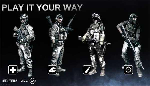 Battlefield 3, desvelan nuevas características sobre sus opciones