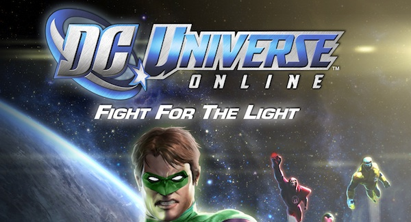 DC Universe Online: Fight for the Light, llega la expansión de Linterna Verde