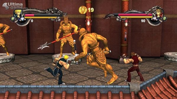 Double Dragon II: Wander of the Dragons, remake para Xbox 360 del clásico Double Dragon II