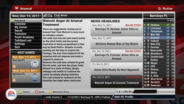 FIFA 12, nuevas imágenes del esperado juego de fútbol