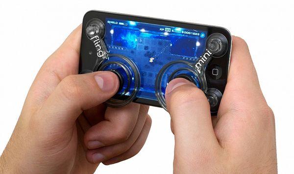 Fling Mini, controles físicos para jugar en iPhone y iPad con este nuevo invento