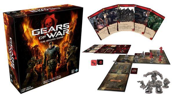 Gears of War, primer trailer del juego de mesa dedicado al juego de disparos Gears of War