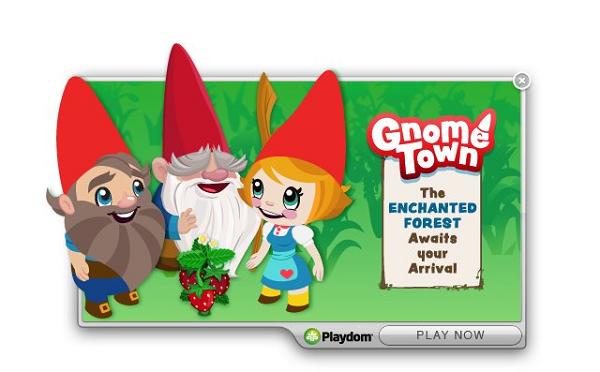 Gnome Town, juega en Facebook a este título de construcción de fantasía