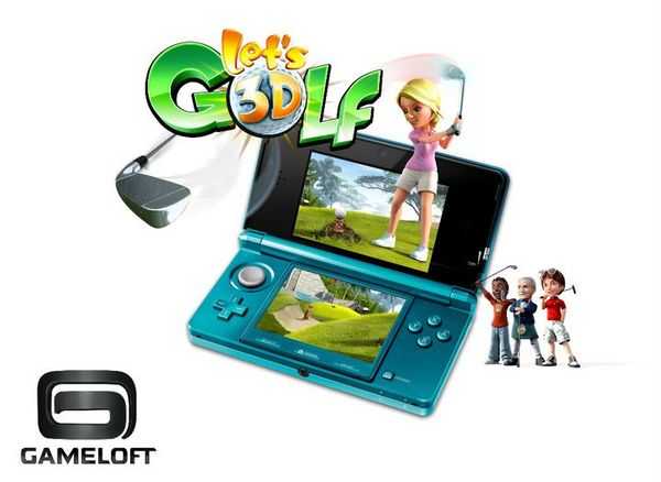 Let's Golf! 3D, nuevo juego de golf para la 3DS