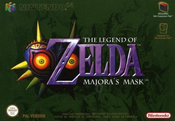 The Legend of Zelda: Majora's Mask, podría salir una versión 3D para Nintendo 3DS