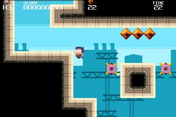 Meganoid, descarga gratis este adictivo juego de plataformas para iPhone y Android