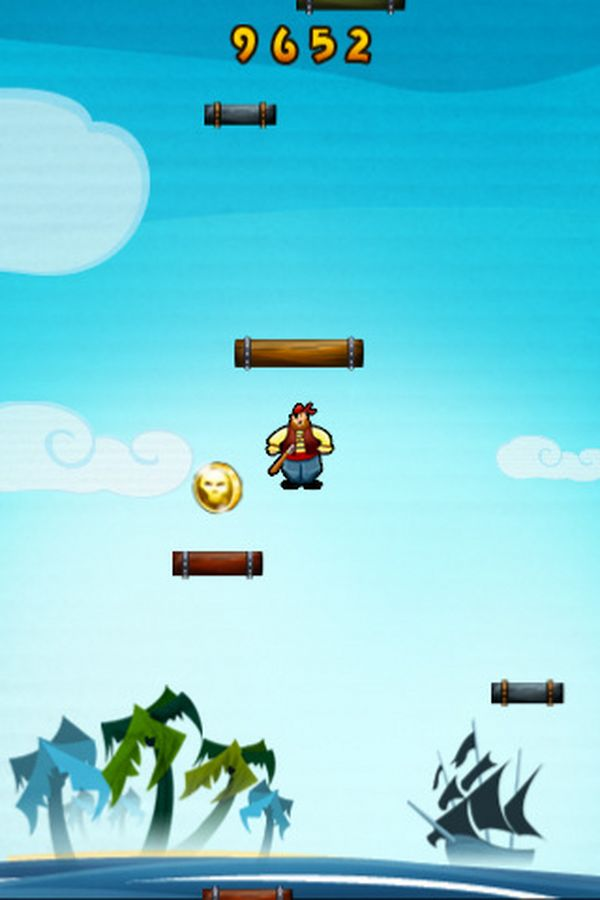 Pirate Jump, descarga gratis juegos para iPhone, iPad y iPod Touch por tiempo limitado