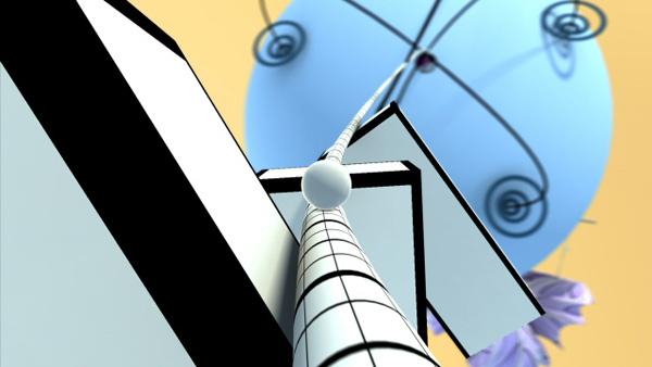 Proun, un videojuego gratis en alta definición con frenéticas carreras y escenarios abstractos
