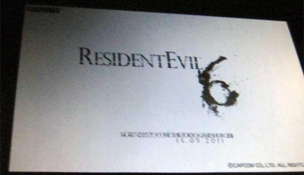 Resident Evil 6, posible primera imagen y fecha de presentación