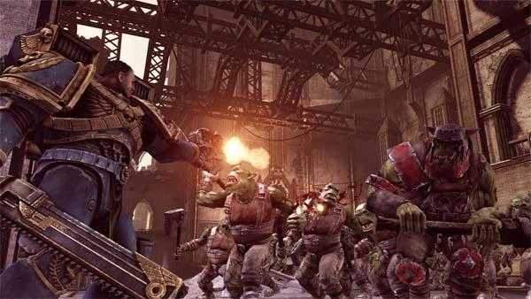 Warhammer 40000 Space Marine, vídeo del juego en plena acción